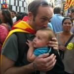 Portanadons a Barcelona el dia 11 de setembre