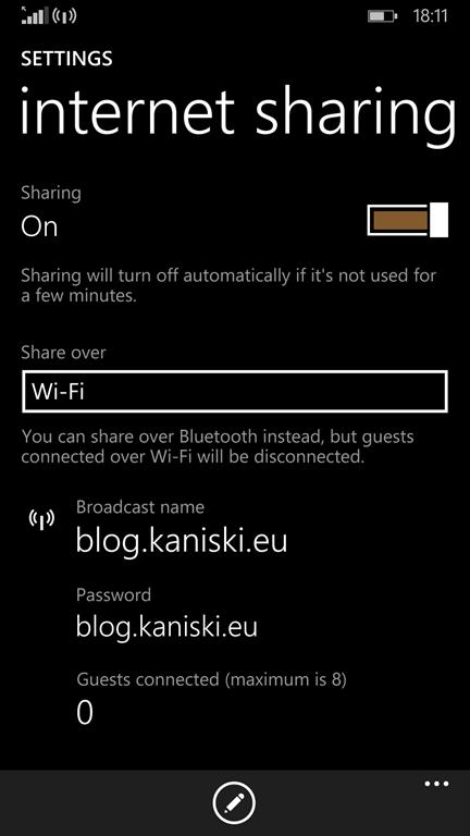 Internet sharing & MikroTik saved the day(s)! « blog kaniski eu