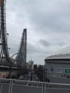 東京ドームのジェットコースター