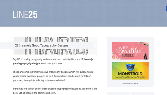 23 Insanely Good Typography Designs