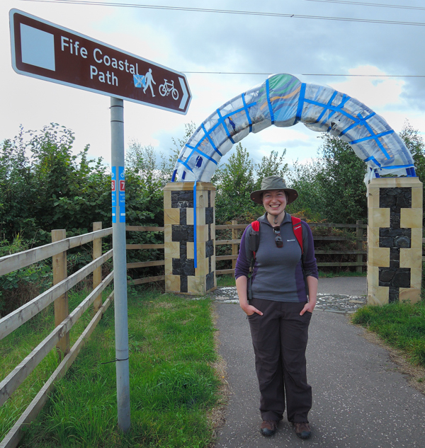Kincardine - the start of the Fife Coastal Path