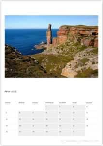 July - Old Man of Hoy, Orkney