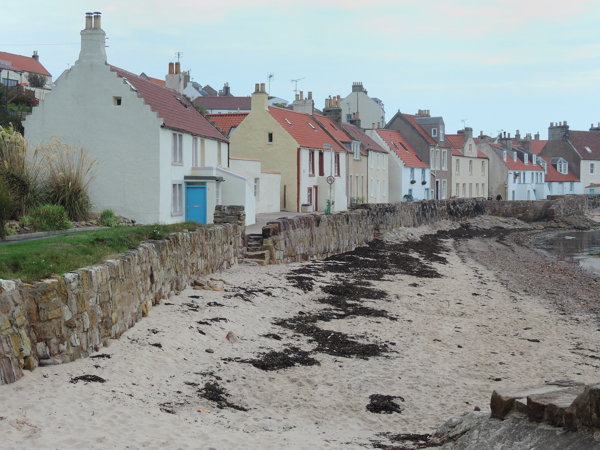 Mile 60 - Pittenweem. Sponsored by Dawn Carson, Kathleen and Robert Thorburn, Lorna and Ken Wilson, Colin Aimers, John Gaskell and Stina and Robert MacDonald.