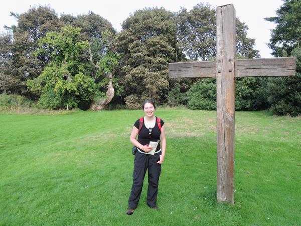 Mile 104 - Balmerino Abbey. Sponsored by Anna Vachon and Jim Hampson.