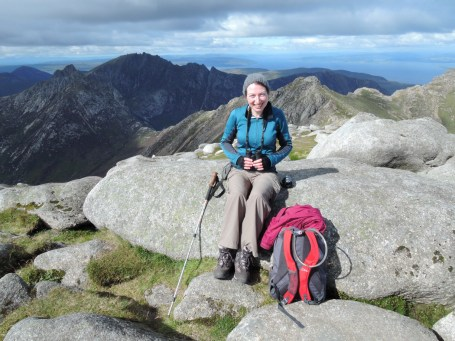 The summit of Goatfell, September 2015