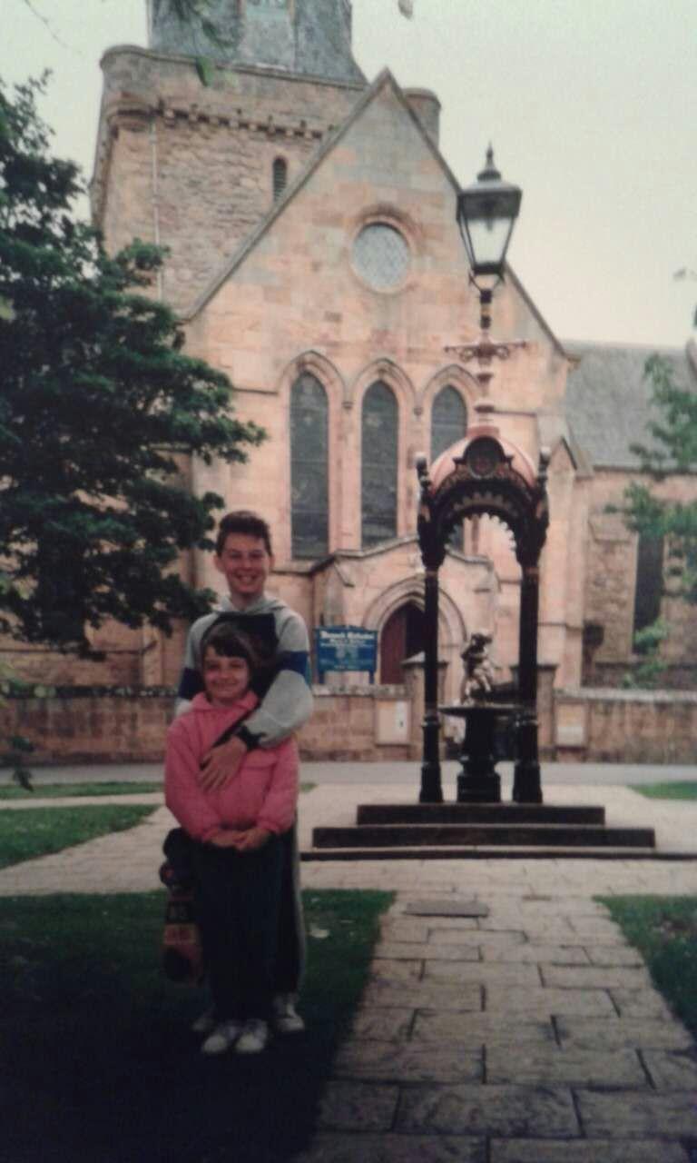 Dornoch Cathedral, 1993.