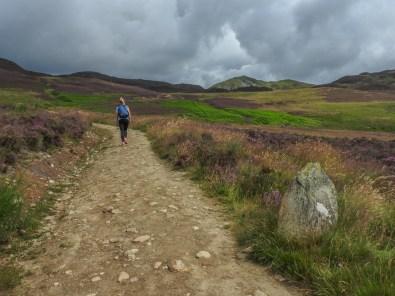 Climbing Ben Vrackie, July 2016