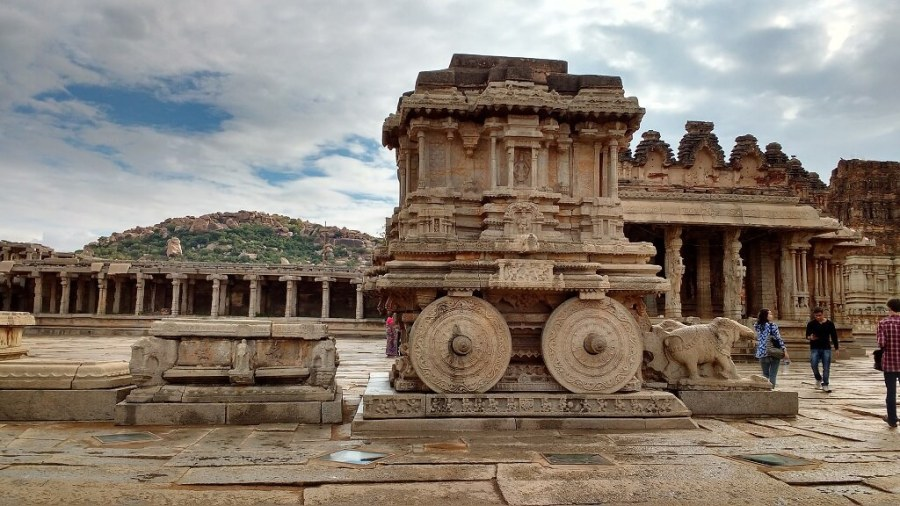 The Chariot in Hampi