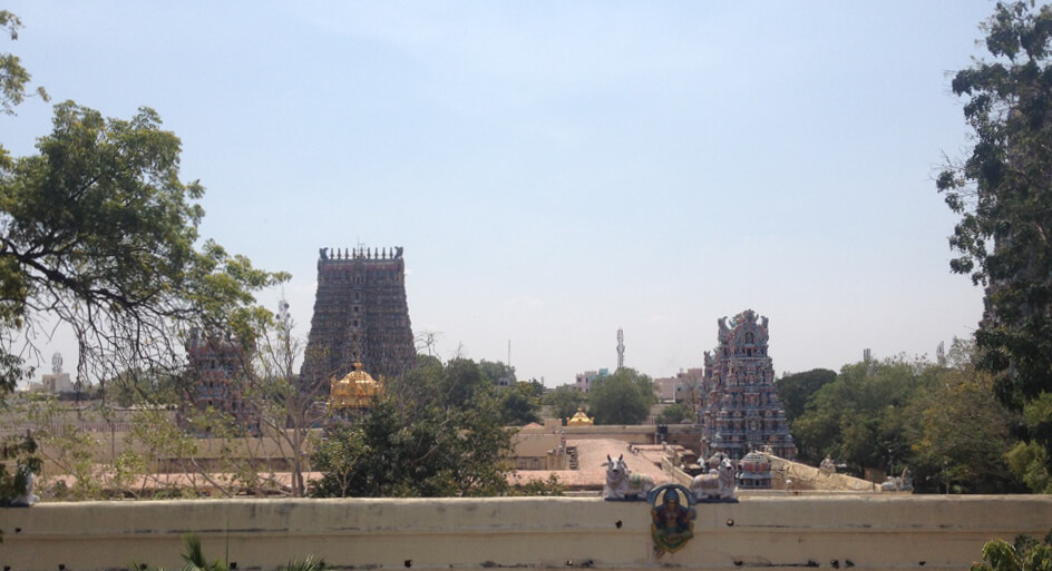 Temples in Tamil Naidu. Photo by Karl Rock.