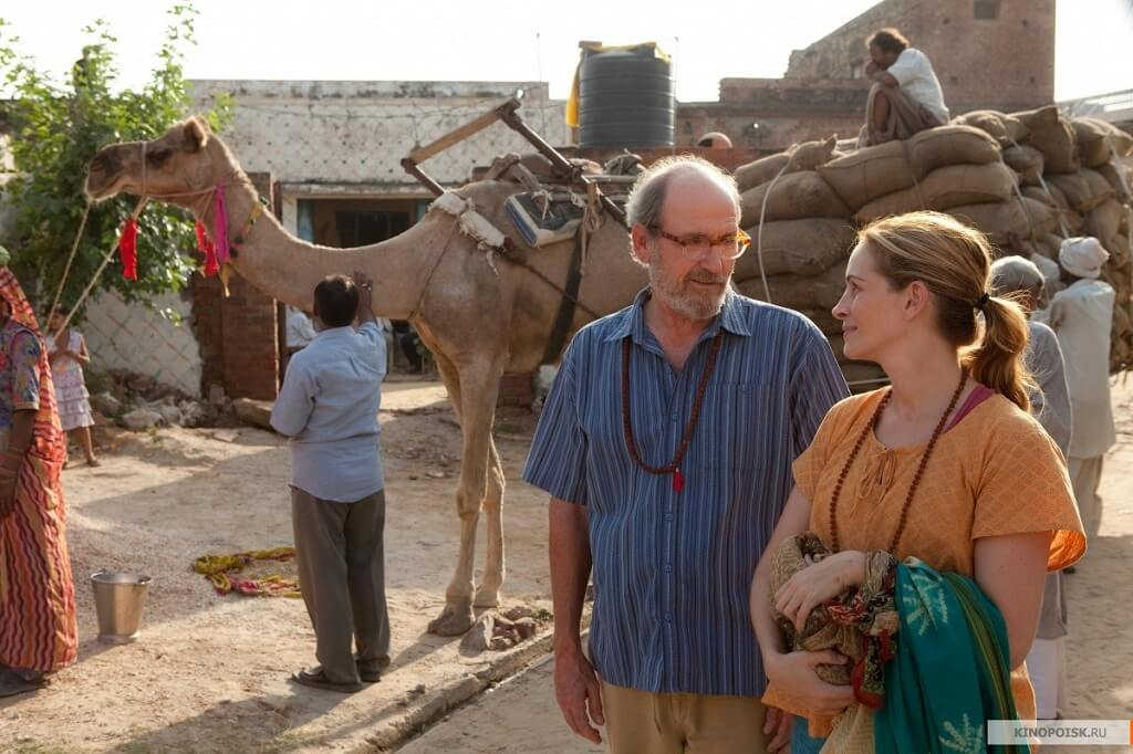 A still from Eat Pray Love