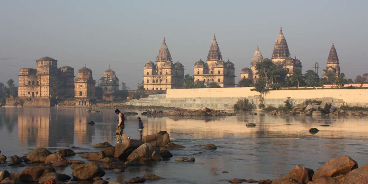 Orchha, chhatris, MP. Photo source: Flickr