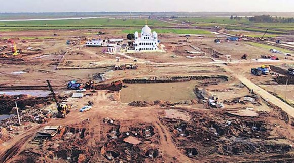 Kartarpur Corridor Construction on Pakistan Side