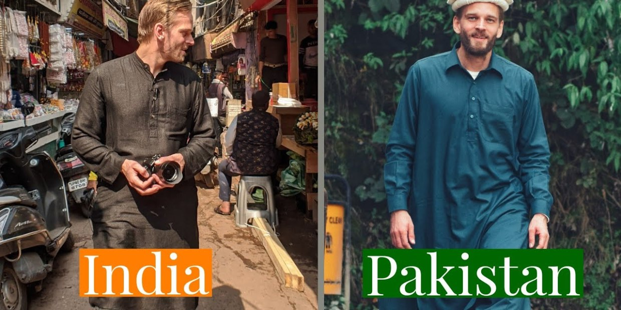 Karl Rock blending in in India and Pakistan