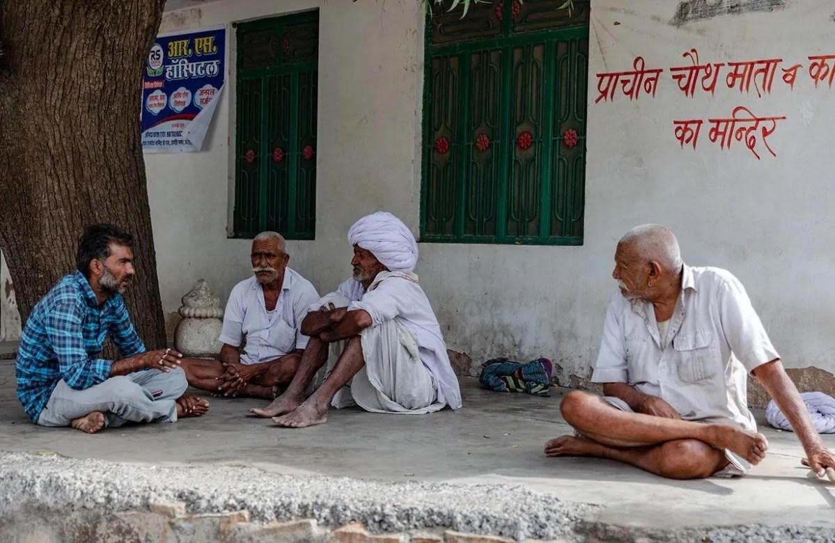 Men Talking in India