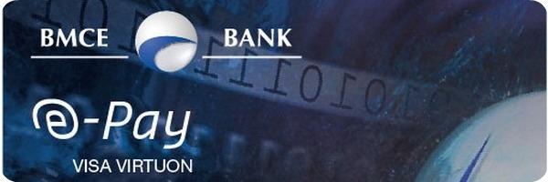 Carte e pay de bmce une carte visa internationale pour for Banque pour le commerce exterieur lao