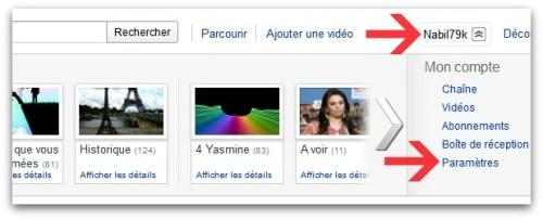 Youtube - Étape 01