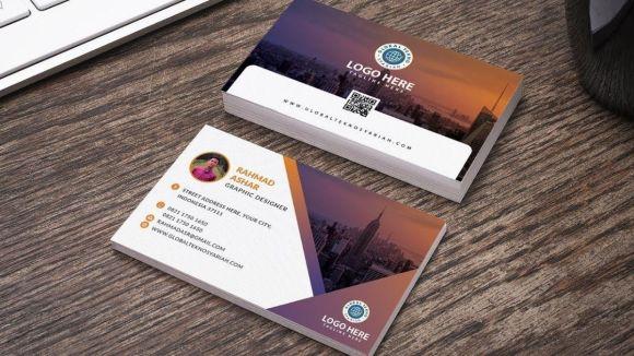 Contoh design kartu nama untuk pribadi