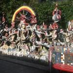 Мозаичный дворик в Питере