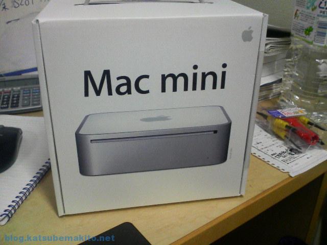 Macmini 2006 箱
