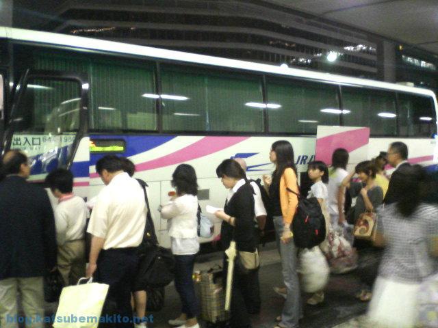 夜行バス 2007 東京〜関西