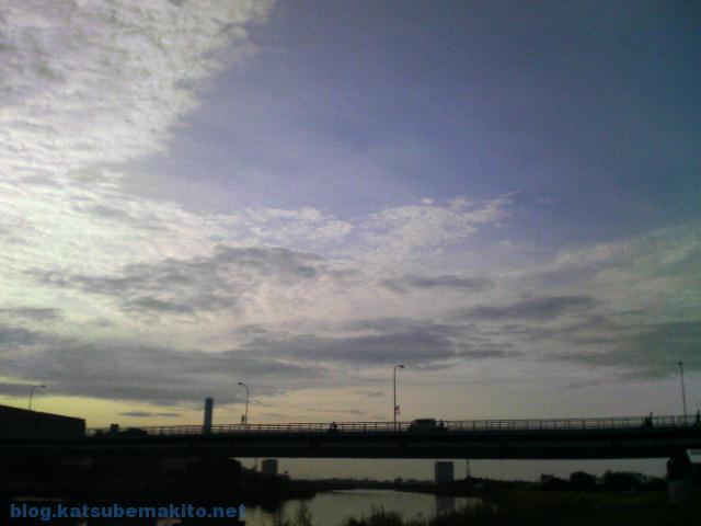 多摩川 2007 早朝 3