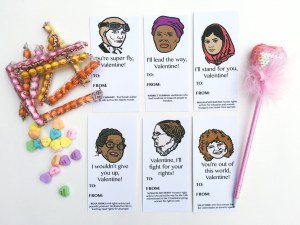 women of history valentines