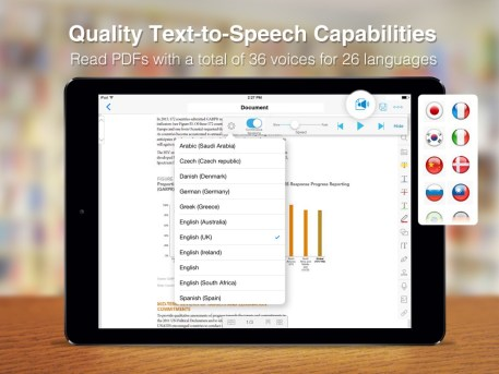 PDF Reader 6 Premium_Text to Speech