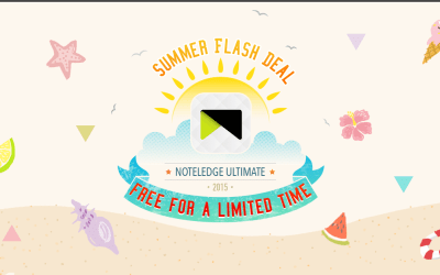 FLASH DEAL – NoteLedge Ultimate is Free for the Next 48 hours!