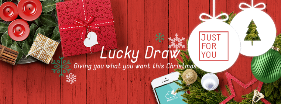 JustForYou Christmas Lucky Draw