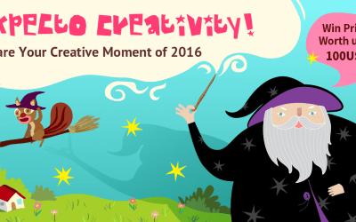 Expecto Creativity! Your Inspiration- Your Moment