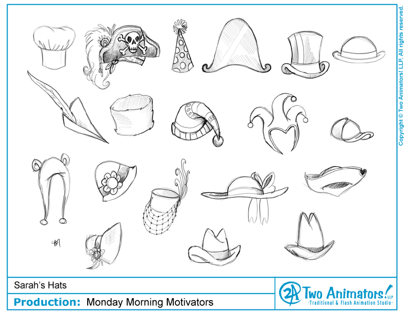 Source: Two Animators Sarah's Hats