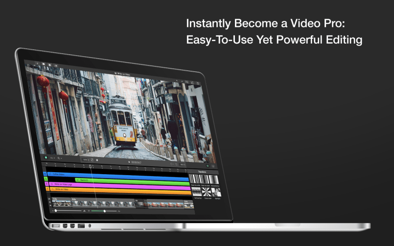 Write-on Video for Mac: a Powerful, Easy-to-Use Video Editor