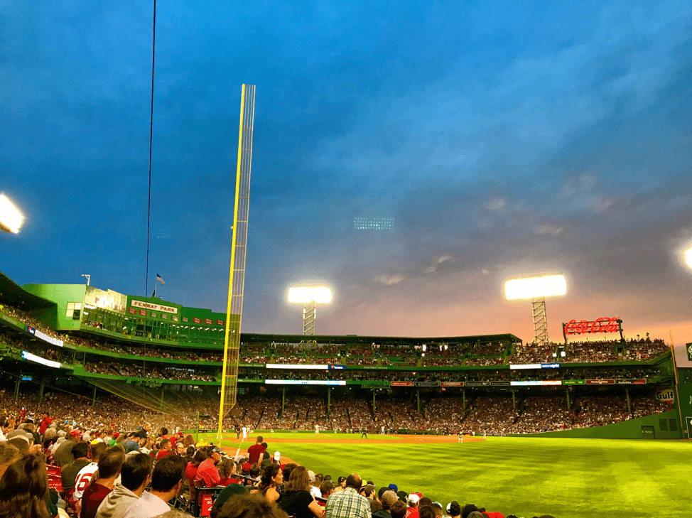 Fenway Park, I love you! Boston, you're my home.