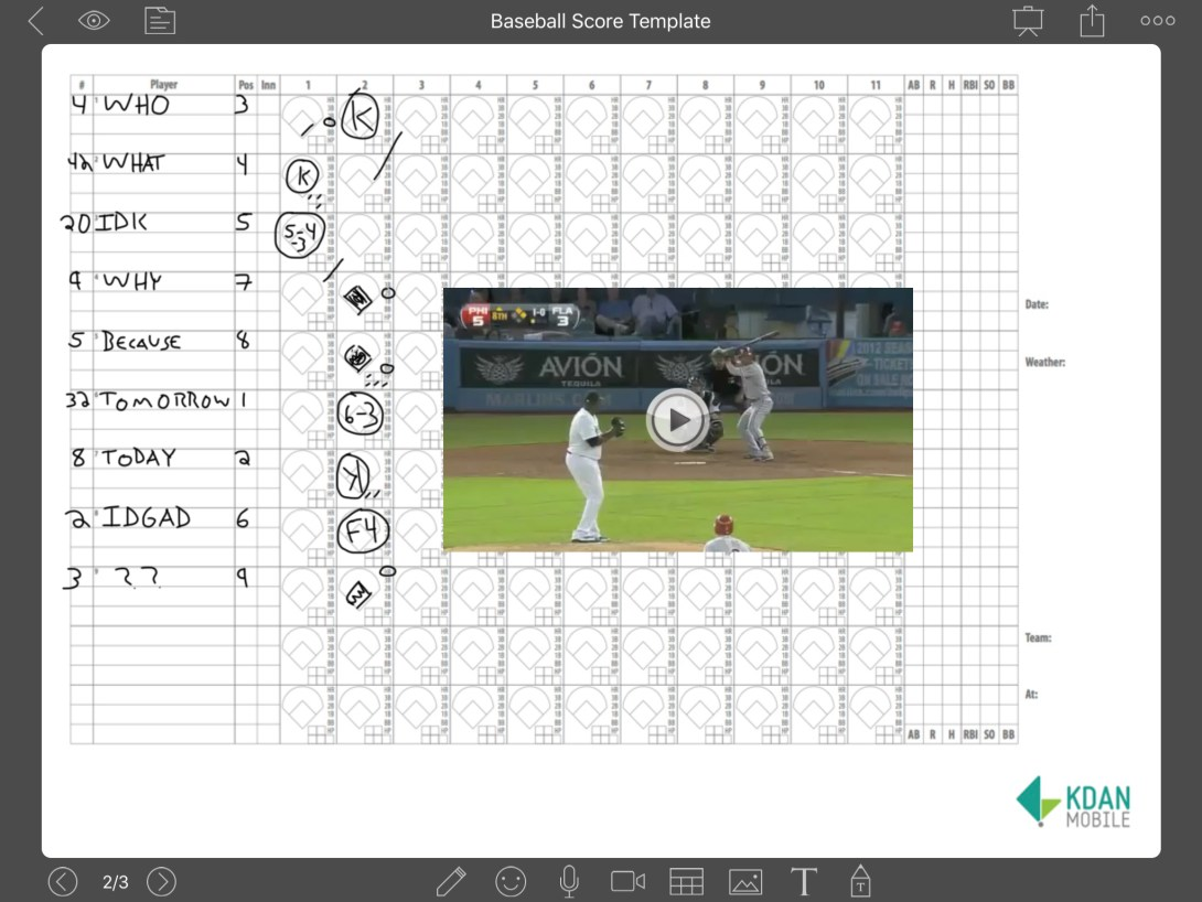 Check out our tutorial on NoteLedge to learn how to bring your scorecards to life by taking videos right from webpages and adding them to your scorecard