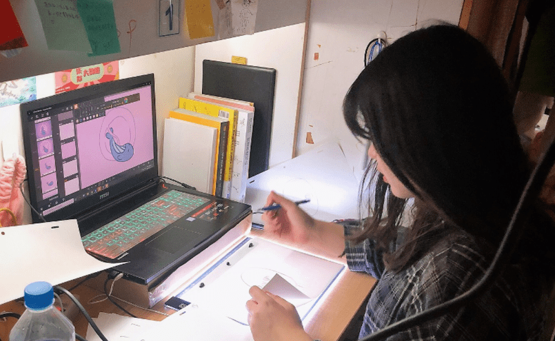 Animation Desk Contest TingYi 04