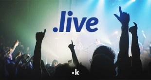 dominio web estensione live