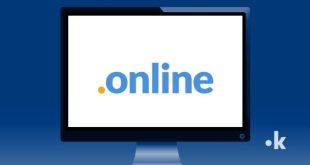 dominio web .online