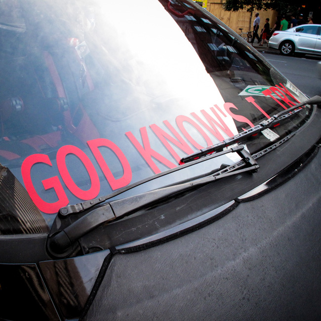'God knows I try' on the UWS