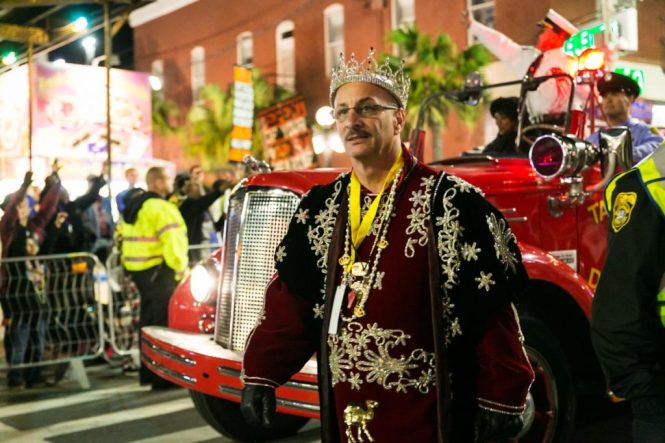 The 2015 Sant' Yago Knight Parade in Tampa's Ybor City, by NYC photojournalist, Kelly Williams