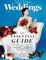 New York Magazine Weddings winter 2015 with photo by Kelly Williams