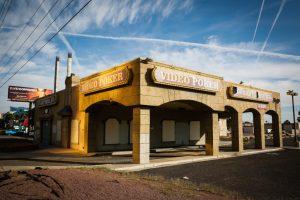 Abandoned casino in Las Vegas