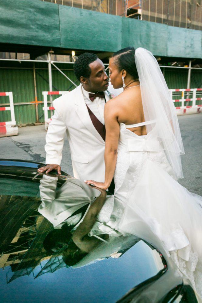 Bride and groom portraits at a Glen Terrace wedding