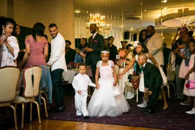 Bridal party entrance at a Glen Terrace wedding