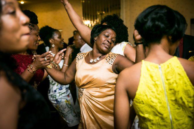 Guests dancing at a Glen Terrace wedding