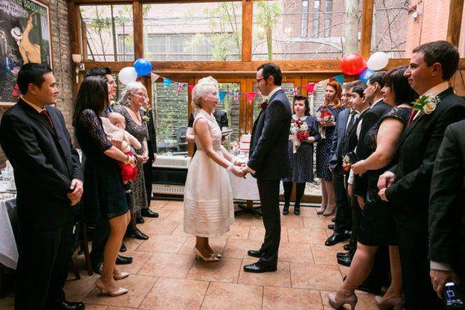 Ceremony at a Scottadito wedding