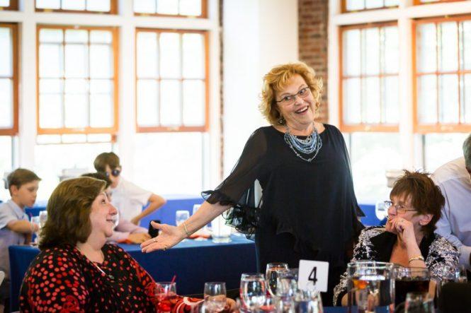 Guests enjoying a bar mitzvah by bar mitzvah photographer, Kelly Williams