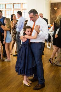 Parent-child dances by bar mitzvah photographer, Kelly Williams