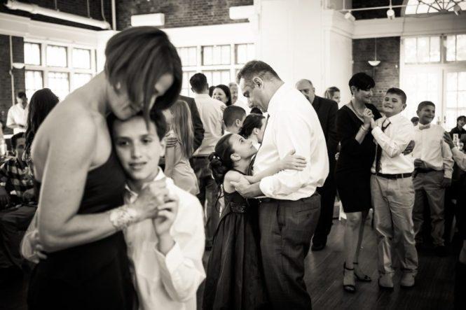 Parent-child dances by bar mitzvah photographer, Kelly Williams