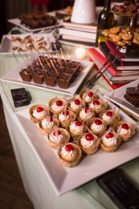Desserts at a SoHo wedding