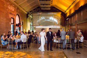 Reception at a Bronx Zoo wedding